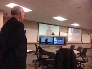 Ted Celeste talks aout bringing legislators together