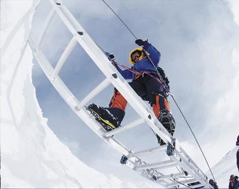 Alison Levine Ladder Climb